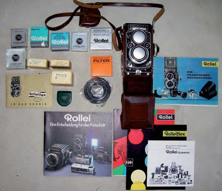 Rolleiflex-Sammlung